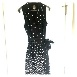 Anne Klein polka dot dress